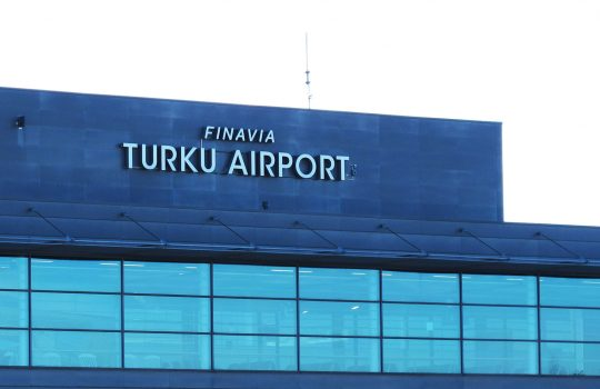Turku maan toiseksi suurin kansainvälinen lentoasema