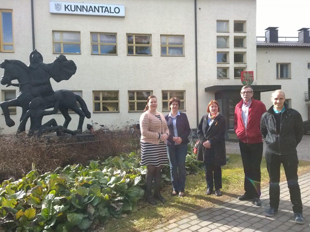 Pikaopas lähtee mm. Marttilan kuntaan, jossa Lounaistiedon Ville Santala vieraili keväällä 2016.