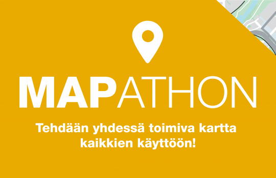 Mapathon – kaikille avoin kartoitustapahtuma!