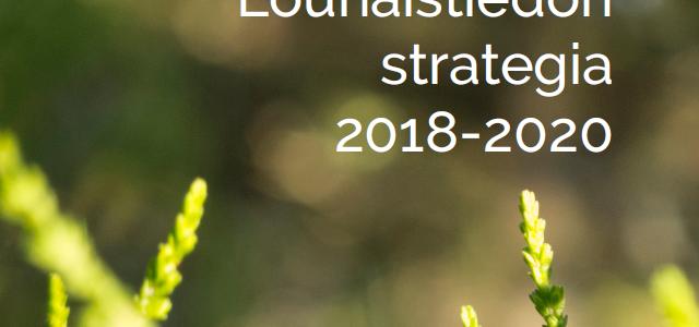 Lounaistiedon strategia 2018–2020