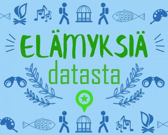 Elämyksiä datasta -kilpailu käynnistyy 14.9.2018!