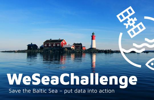 Vaikuta Itämeri-työhön osallistumalla WeSeaChallenge-innovaatiokilpailuun!