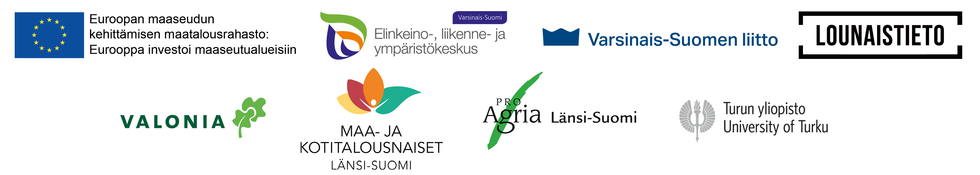 Digi-SAAPAS -hankkeen partnerien logot